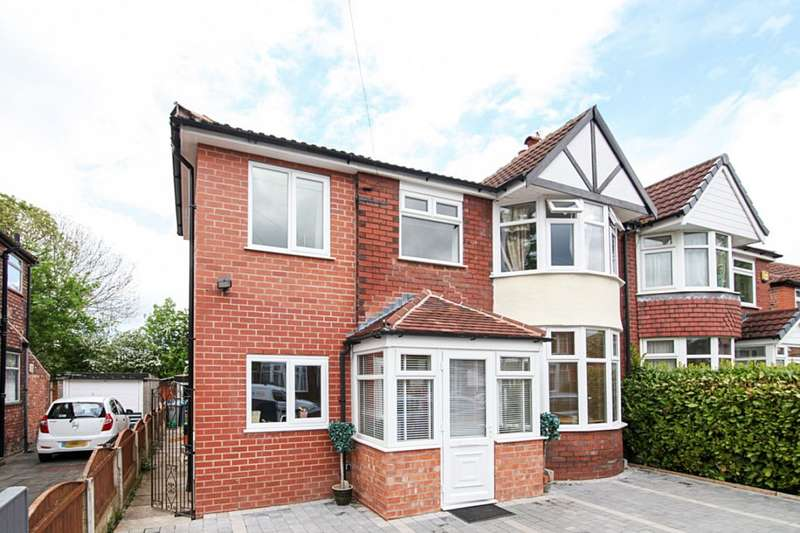 4 Bedrooms Semi Detached House for sale in Chestnut Drive, Sale, M33 4HR