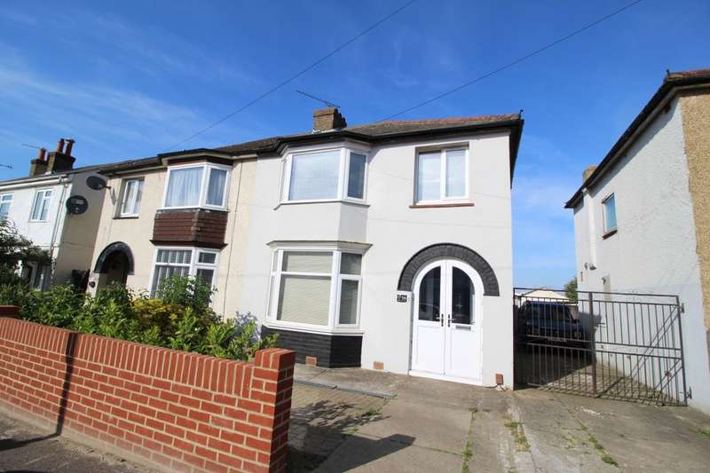 3 Bedrooms Semi Detached House for sale in Mitchell Avenue, Northfleet, Gravesend, DA11