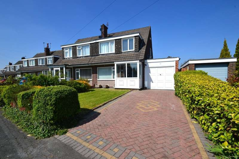 3 Bedrooms Semi Detached House for sale in Stirling Avenue, Hazel Grove, Stockport SK7 5LX