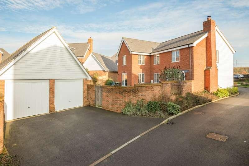 5 Bedrooms Detached House for sale in Joseph Conrad Drive, Aldington, Ashford TN25