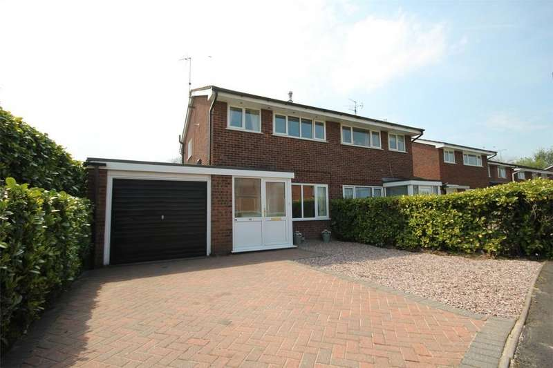 3 Bedrooms Semi Detached House for sale in Ness Grove, Cheadle, Staffordshire