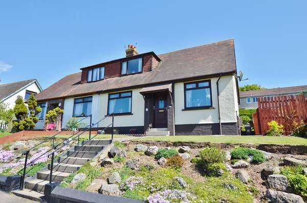 3 Bedrooms Semi-detached Villa House for sale in 15 Simson Avenue, West Kilbride, KA23 9DR