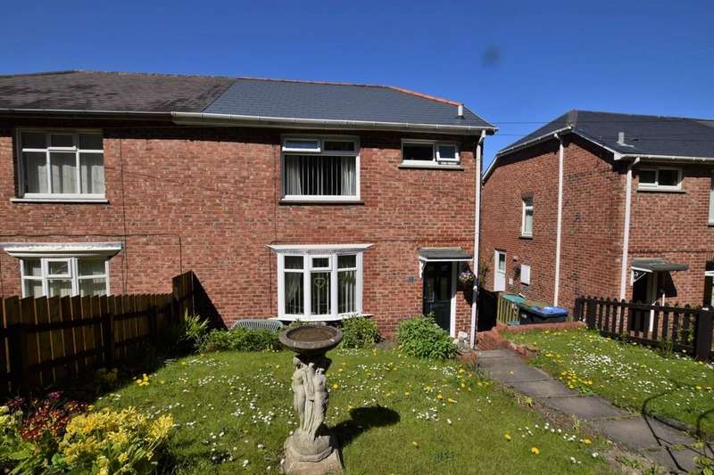 3 Bedrooms Semi Detached House for sale in Wylam Road, Shield Row, Stanley