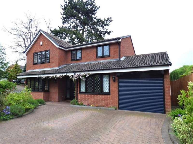 4 Bedrooms Detached House for sale in Wissage Road, Lichfield