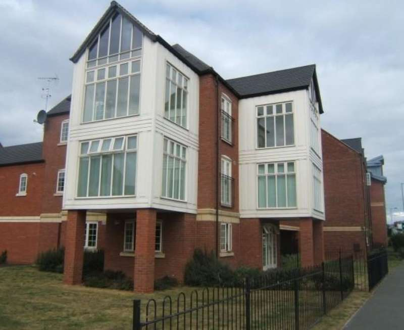 2 Bedrooms Apartment Flat for sale in Evershed Way, Burton-on-Trent, Staffordshire, DE14 3LU