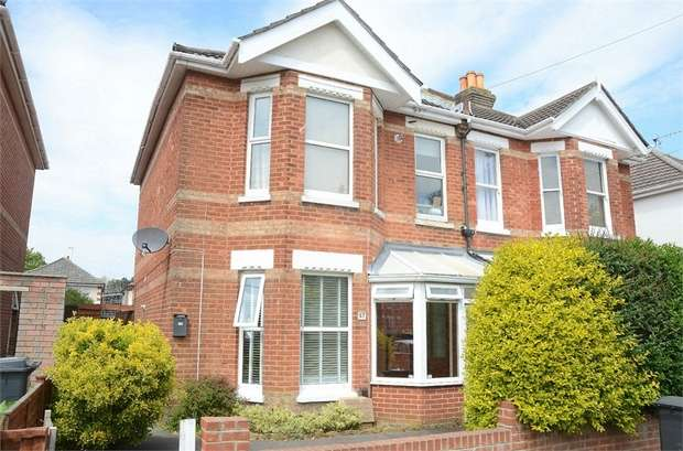 2 Bedrooms Flat for sale in Fortescue Road, Bournemouth, Dorset