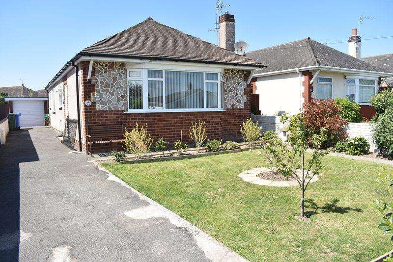 2 Bedrooms Detached Bungalow for sale in Bryn Cwnin Road, Rhyl