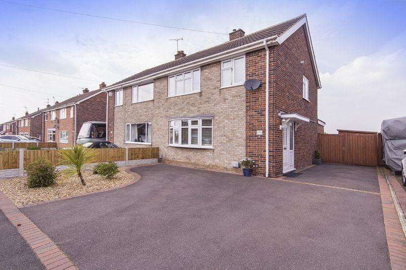 3 Bedrooms Semi Detached House for sale in SANCROFT ROAD, SPONDON