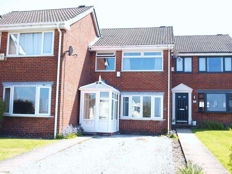 3 Bedrooms Terraced House for sale in Croft Head Drive, Milnrow, OL16 3UE