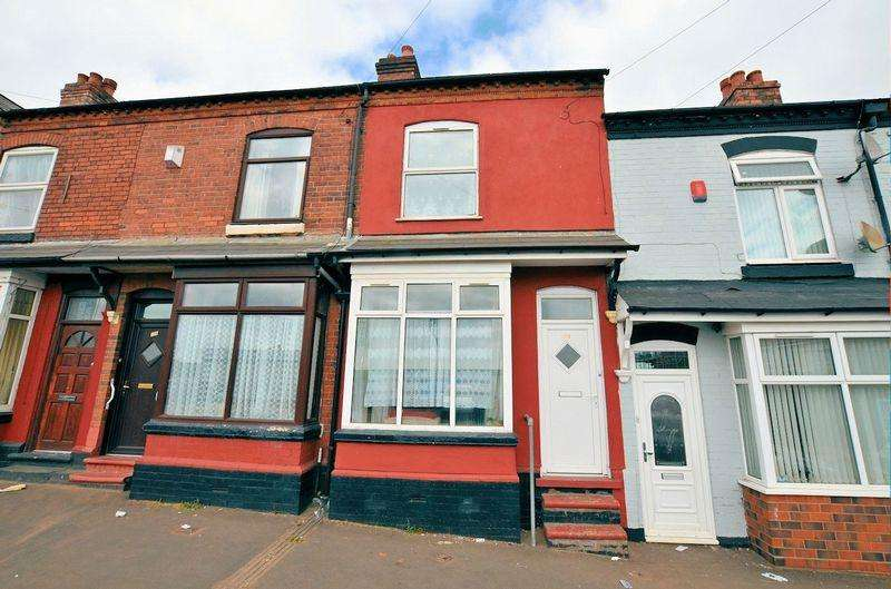 3 Bedrooms Terraced House for sale in Lewisham Road, Smethwick