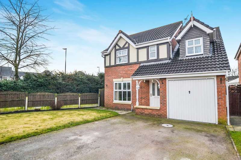 4 Bedrooms Detached House for sale in Nevada Close, Warrington