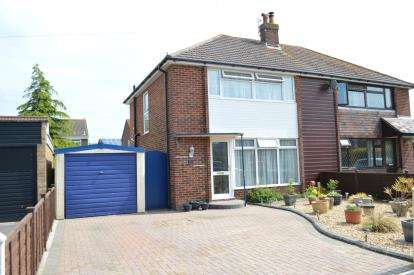 3 Bedrooms Semi Detached House for sale in Muscliff, Bournemouth, Dorset