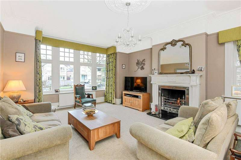 6 Bedrooms Semi Detached House for sale in Lancaster Park Road, Harrogate, North Yorkshire