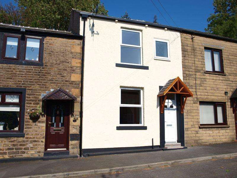 2 Bedrooms Terraced House for sale in George Street, Hurstead, OL16 2RR