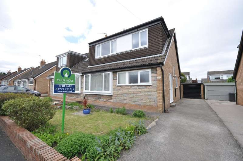 4 Bedrooms Semi Detached House for sale in Polefield, Fulwood, Preston, Lancashire, PR2 9RS