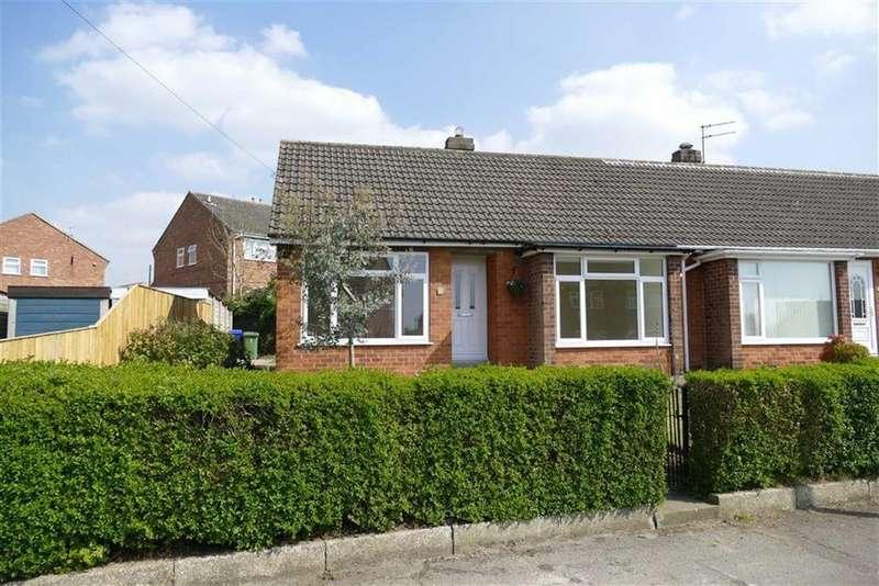 2 Bedrooms Semi Detached Bungalow for sale in Langdale Road, Market Weighton