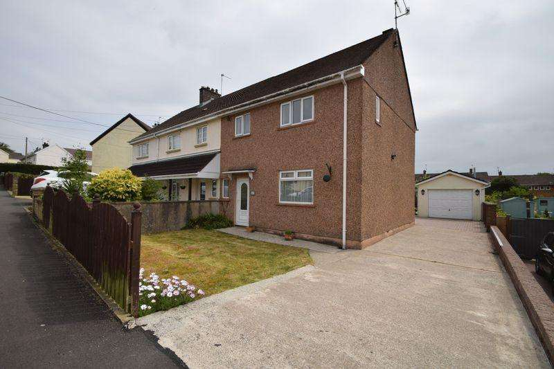 3 Bedrooms Semi Detached House for sale in Bryn Eglwys, Croesyceiliog, Cwmbran