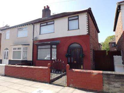 3 Bedrooms Semi Detached House for sale in Tatton Road, Orrell Park, Liverpool, Merseyside, L9