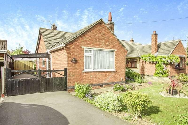 2 Bedrooms Semi Detached Bungalow for sale in Applebee Road, Burbage, Hinckley, LE10
