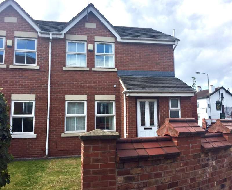 3 Bedrooms Semi Detached House for sale in Titherington Way, Wavertree, Liverpool, Merseyside, L15 3JN