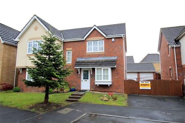 4 Bedrooms Detached House for sale in Lupin Grove, Rogerstone, NEWPORT