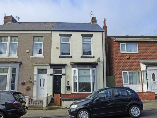 3 Bedrooms End Of Terrace House for sale in Pollard Street, South Shields, Tyne and Wear