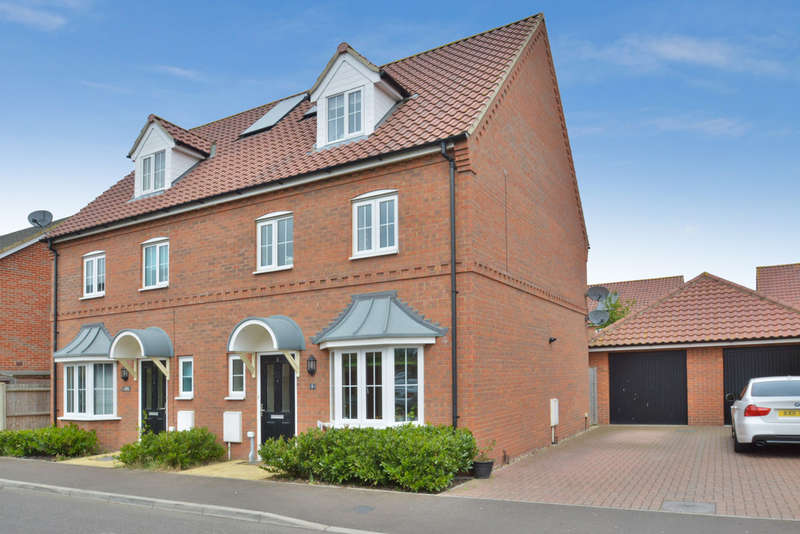 4 Bedrooms Semi Detached House for sale in Robin Avenue, Harleston
