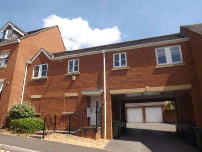 2 Bedrooms Maisonette Flat for sale in Exeter, Devon