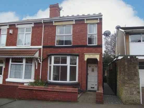 3 Bedrooms Semi Detached House for sale in Fowler Street, Wolverhampton, West Midlands, WV2 3JD