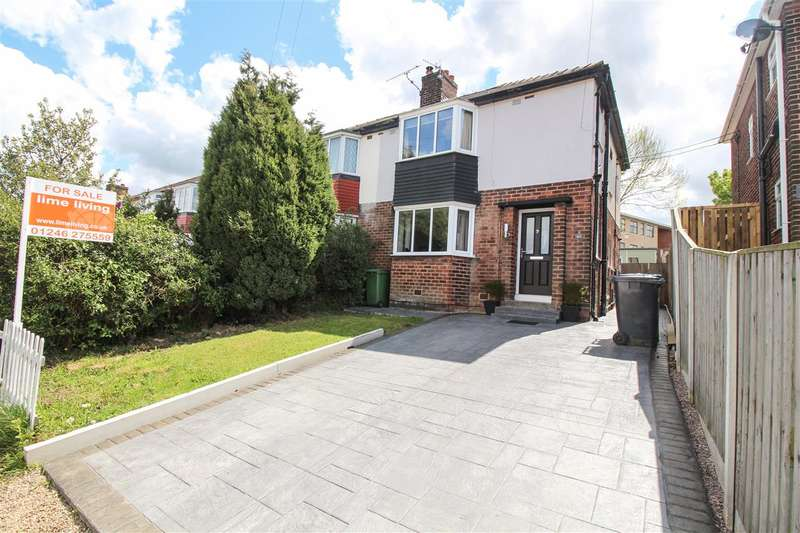 3 Bedrooms Semi Detached House for sale in Salisbury Crescent, Chesterfield