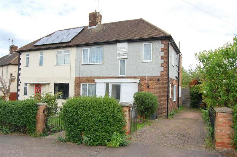 4 Bedrooms Semi Detached House for sale in Common Rise, Hitchin