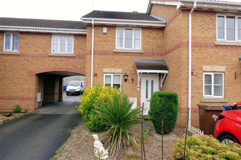 2 Bedrooms Town House for sale in Cherry Court, Branston