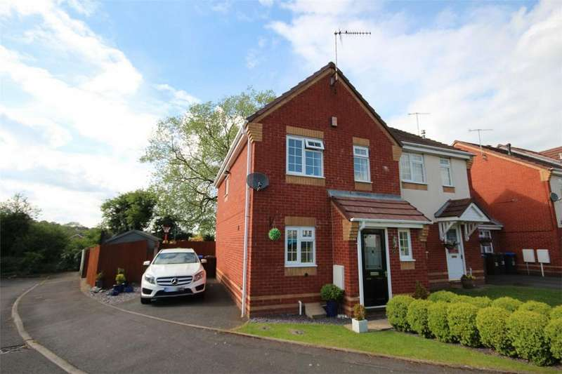 3 Bedrooms Semi Detached House for sale in Arundel Drive, Cheadle, Staffordshire
