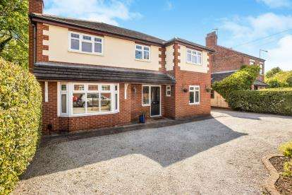 4 Bedrooms Detached House for sale in Slater Lane, Leyland, Lancashire