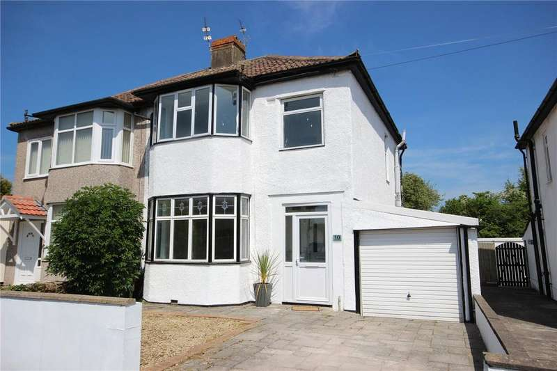 3 Bedrooms Semi Detached House for sale in Callicroft Road, Patchway, Bristol, BS34