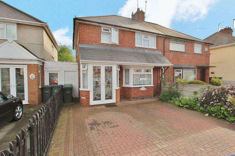 3 Bedrooms Semi Detached House for sale in Whitgreave Street, West Bromwich