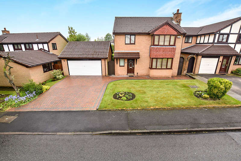 4 Bedrooms Detached House for sale in Chiswick Drive, Radcliffe, MANCHESTER, M26