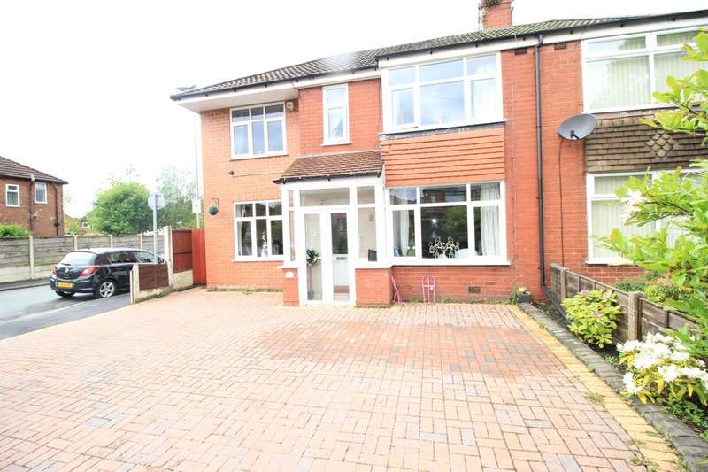 4 Bedrooms Semi Detached House for sale in Higher Green Lane, Astley,Tyldesley, Manchester, M29