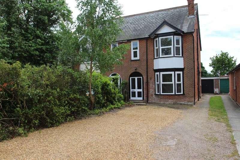 4 Bedrooms Semi Detached House for sale in Woodside, Felixstowe Road, Nacton, Ipswich