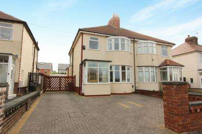 3 Bedrooms Semi Detached House for sale in Alderley Avenue, Blackpool, Lancashire, FY4