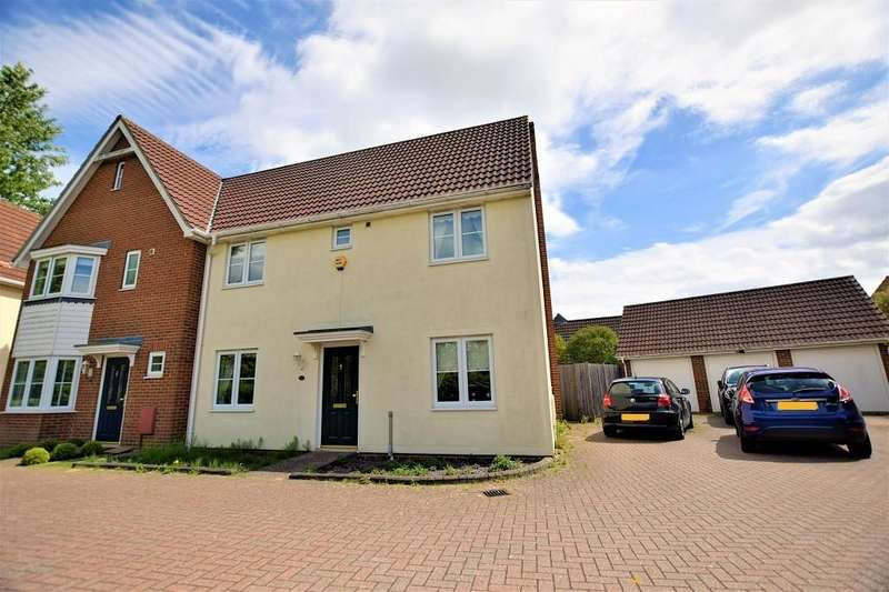 3 Bedrooms Semi Detached House for sale in Rowan Way, Woodlands park