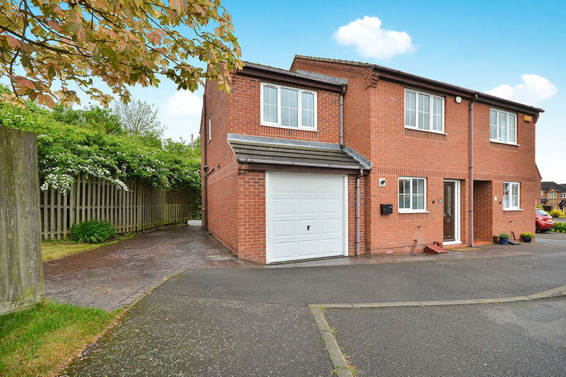4 Bedrooms Semi Detached House for rent in Sussex Close, Giltbrook, Nottingham, NG16