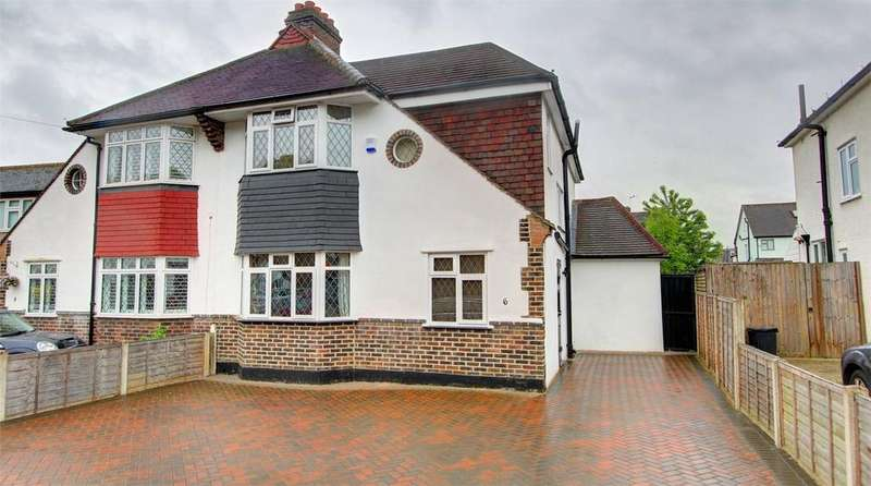 4 Bedrooms Semi Detached House for sale in Whitehall Road, Bromley, Kent