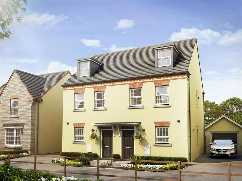 3 Bedrooms Semi Detached House for sale in Plot 28, Kirkwood, Saxon Fields, Cullompton
