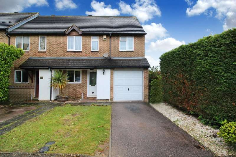 3 Bedrooms End Of Terrace House for sale in Linden Close, Horsham