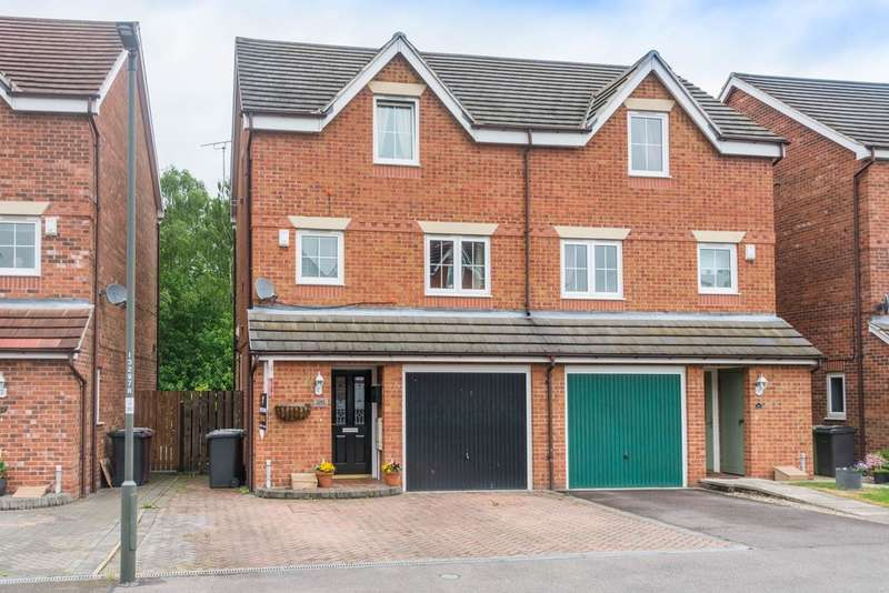 4 Bedrooms Town House for sale in St Matthews Close, Renishaw