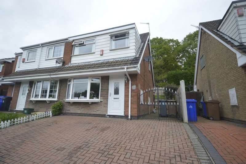 3 Bedrooms Semi Detached House for sale in Defoe Drive, Parkhall, Stoke-On-Trent, ST3