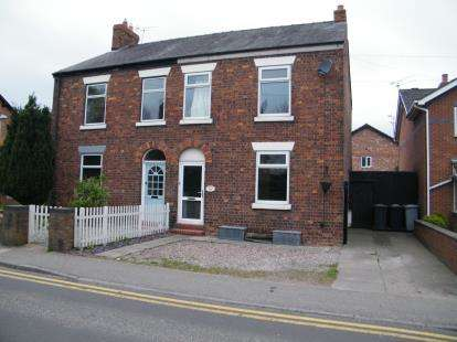 3 Bedrooms Semi Detached House for sale in Crewe Road, Haslington, Crewe, Cheshire
