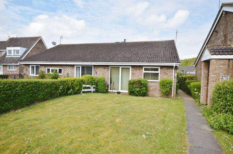 3 Bedrooms Semi Detached Bungalow for sale in Bergen Walk, Corby