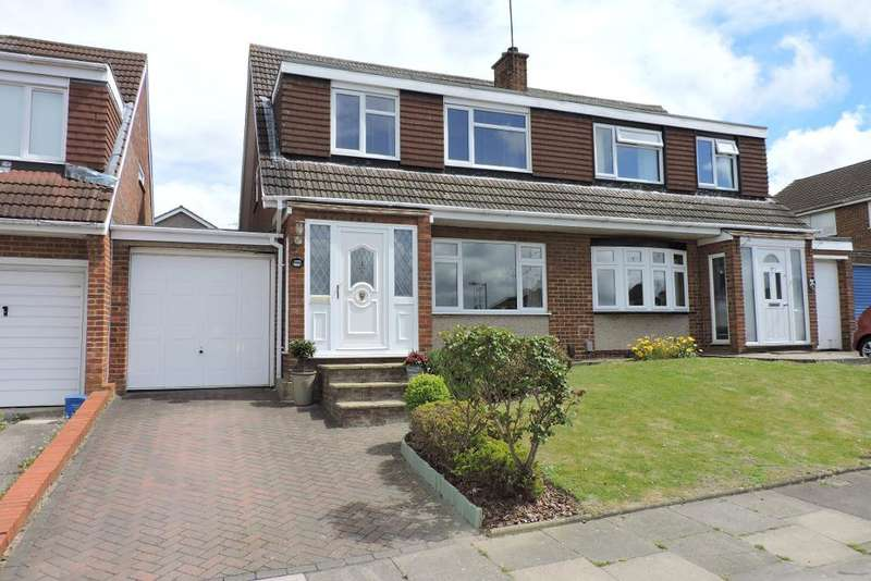 3 Bedrooms Semi Detached House for sale in Turnpike Drive, Luton, Bedfordshire, LU3 3RQ